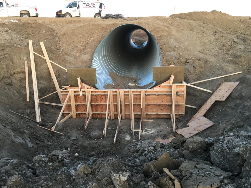 Tayo Construction - Culvert End Treatments